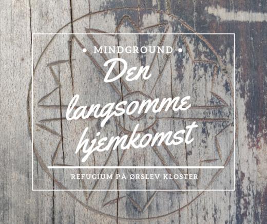 Bænk med symbol fra Ørslev Kloster